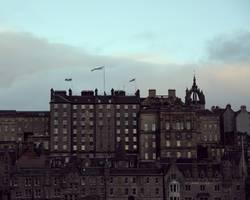 Über den Dächern von Schottland
