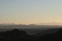 . . . Berge wie gemalen . . .