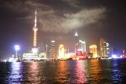 Skyline Shanghai über den Huangpu