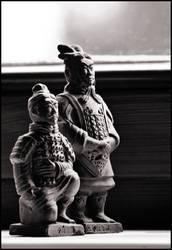 General und Bogenschütze