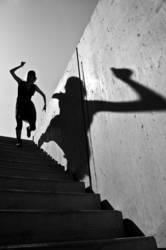 Der Wanderer und sein Schatten IV