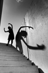 Der Wanderer und sein Schatten III