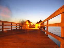 Abends am Pier 2