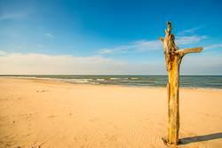 einsamer Strand der Ostsee