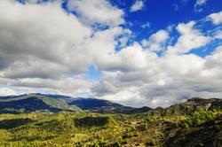 Wolken über dem Troodos / Zypern