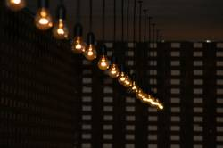 Lampen im Archiv