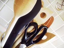 In der Küche...