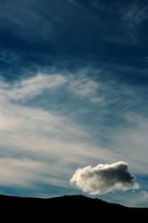 Reise einer Wolke