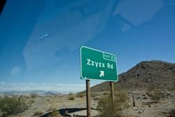Zzyzx Road Mojave Desert