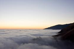 Wolken über der Oregon Coast