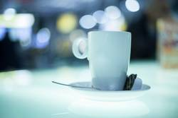 Bokeh Tasse Kaffee