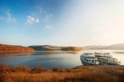 Schiffe auf dem Biggesee im Sauerland