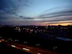 Abendliches Prag