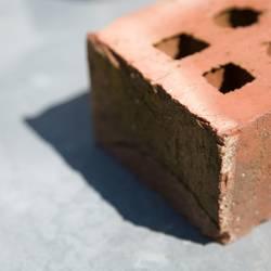 Brick in the sun