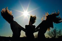 Die Sonne und wir