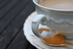 goldene Kaffeepause