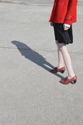 Das Mädchen in der roten Jacke