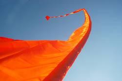 Spielball des Windes