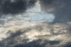 Dramatisch wirkender Himmel