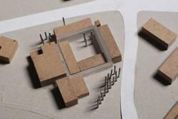 Architektur Modell Foto
