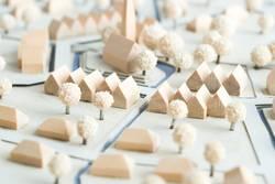 Urbanes Modell zur Planung von Dorf und Stadt