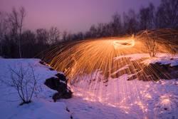 Feuer Eis und Funken
