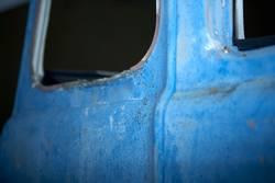 das blaue Wrack