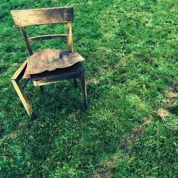 Sitzplatz - so langsam stirbt er...