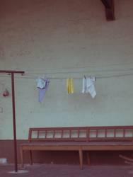 kleine Wäsche / Putztag