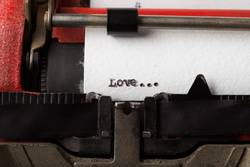 Love - text message