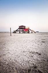 stilt house at the beach II