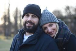 Zusammen, Mann&Frau, Paar, Winter, Mützen