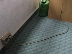 Zimmer mit Stromversorgung
