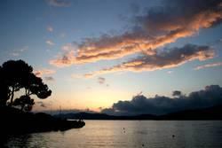 Schöner Sonnenuntergang auf Malle