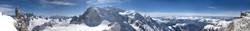 Mont Blanc – Panoroma