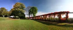 Herbstpanorama Kasseler Weinberg-Park