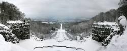 Kasseler Herkules-Kaskaden im Winter