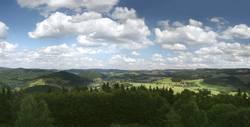 Panorama Hochsauerland vom Wilzenberg
