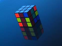 Rubik's in Blue