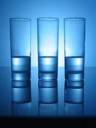 Blaues Glas #03