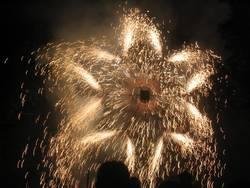 Feuerwerk: Stern