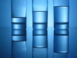 Blaues Glas #05