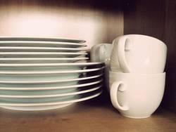 nicht mehr alle Tassen im Schrank