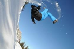 Schneelandung