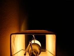 Tischlampe Orgel