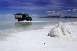camión del sal