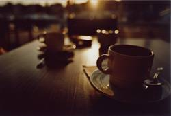 Café im Untergang