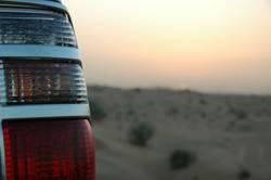 Verkehr in der Wüste