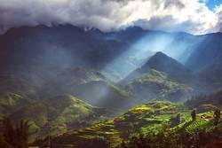 Landscape of Sapa, north of Vietnam