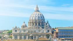 Vatikan und Basilika von St. Peter in Rom